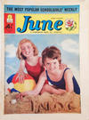Cover for June (IPC, 1961 series) #15 July 1961