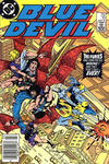 Cover Thumbnail for Blue Devil (1984 series) #10 [Newsstand]