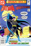 Cover for The Brave and the Bold (DC, 1955 series) #184 [Newsstand]