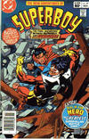 Cover for The New Adventures of Superboy (DC, 1980 series) #47 [Newsstand]