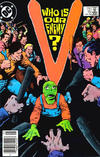 Cover for V (DC, 1985 series) #16 [Newsstand]
