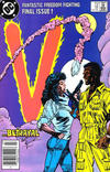 Cover for V (DC, 1985 series) #18 [Newsstand]
