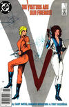 Cover for V (DC, 1985 series) #10 [Newsstand]