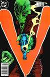 Cover for V (DC, 1985 series) #14 [Newsstand]