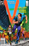 Cover for V (DC, 1985 series) #15 [Newsstand]