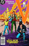 Cover for V (DC, 1985 series) #9 [Newsstand]