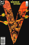Cover for V (DC, 1985 series) #4 [Newsstand]