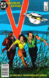 Cover for V (DC, 1985 series) #8 [Newsstand]
