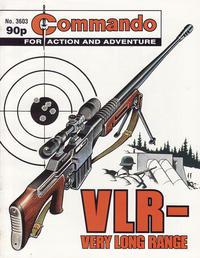 Cover Thumbnail for Commando (D.C. Thomson, 1961 series) #3603