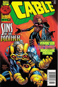 Cover Thumbnail for Cable (Marvel, 1993 series) #44 [Newsstand Edition]
