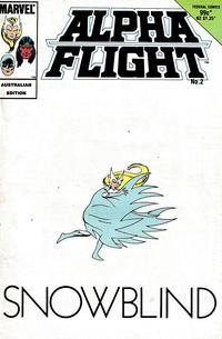 Cover Thumbnail for Alpha Flight (Federal, 1984 ? series) #2
