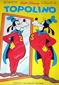 Cover Thumbnail for Topolino (Arnoldo Mondadori Editore, 1949 series) #900