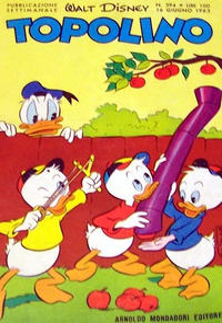 Cover Thumbnail for Topolino (Arnoldo Mondadori Editore, 1949 series) #394