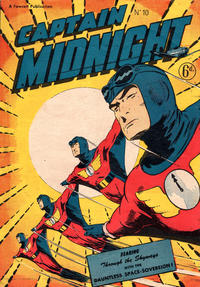 Cover Thumbnail for Captain Midnight (Arnold Book Company, 1951 series) #10