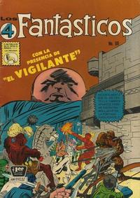 Cover Thumbnail for Los 4 Fantásticos (Editora de Periódicos La Prensa S.C.L., 1962 series) #68