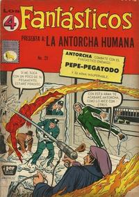Cover Thumbnail for Los 4 Fantásticos (Editora de Periódicos La Prensa S.C.L., 1962 series) #23