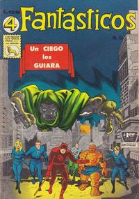 Cover Thumbnail for Los 4 Fantásticos (Editora de Periódicos La Prensa S.C.L., 1962 series) #63