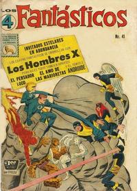 Cover Thumbnail for Los 4 Fantásticos (Editora de Periódicos La Prensa S.C.L., 1962 series) #41