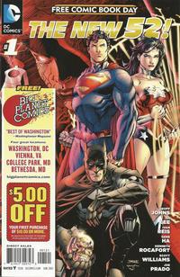Cover Thumbnail for DC Comics - The New 52 FCBD Special Edition (DC, 2012 series) #1 [Big Planet Comics]