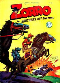Cover for Zorro (L. Miller & Son, 1952 series) #66