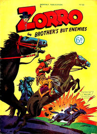 Cover Thumbnail for Zorro (L. Miller & Son, 1952 series) #66