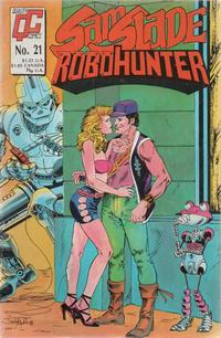 Cover Thumbnail for Sam Slade, RoboHunter (Fleetway/Quality, 1987 series) #21 [UK]