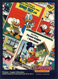 Cover Thumbnail for Tegneseriebokklubben (Hjemmet / Egmont, 1985 series) #[6] - Picasso-kuppet i Barcelona; Beste historier fra Donald Duck & Co. nr. 4