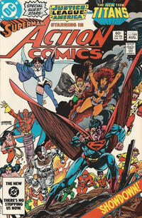 Cover Thumbnail for Action Comics (DC, 1938 series) #546 [Direct-Sales]