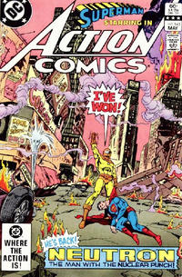 Cover Thumbnail for Action Comics (DC, 1938 series) #543 [Direct-Sales]