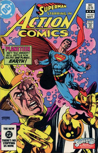 Cover Thumbnail for Action Comics (DC, 1938 series) #547 [Direct-Sales]