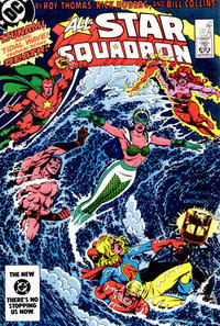 Cover Thumbnail for All-Star Squadron (DC, 1981 series) #34 [Direct-Sales]