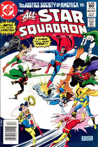 Cover for All-Star Squadron (DC, 1981 series) #4 [Direct]