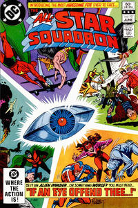 Cover for All-Star Squadron (DC, 1981 series) #10 [Direct Sales]