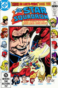 Cover Thumbnail for All-Star Squadron (DC, 1981 series) #14 [Direct Sales]