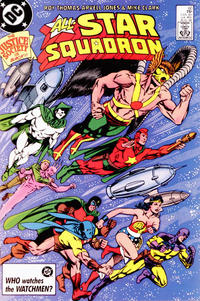 Cover Thumbnail for All-Star Squadron (DC, 1981 series) #60 [Direct Sales]