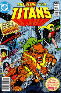 Cover Thumbnail for The New Teen Titans (DC, 1980 series) #5 [Newsstand]