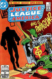 Cover Thumbnail for Justice League of America (DC, 1960 series) #224 [direct-sales]