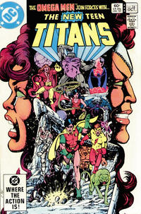 Cover Thumbnail for The New Teen Titans (DC, 1980 series) #24 [Direct Sales Variant]