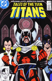 Cover Thumbnail for Tales of the Teen Titans (DC, 1984 series) #89 [Direct Sales Variant]