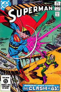 Cover Thumbnail for Superman (DC, 1939 series) #385 [Direct-Sales]