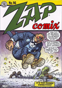 Cover Thumbnail for Zap Comix (Fantagraphics, 2016 series) #16