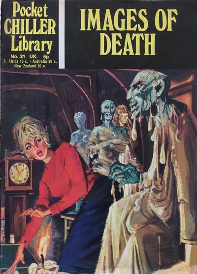 Cover for Pocket Chiller Library (Thorpe & Porter, 1971 series) #21