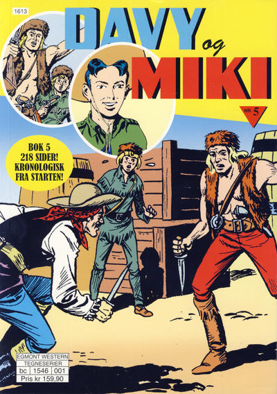 Cover for Davy og Miki (Hjemmet / Egmont, 2014 series) #5