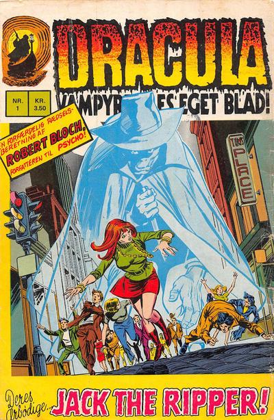 Cover for Dracula (Interpresse, 1972 series) #1