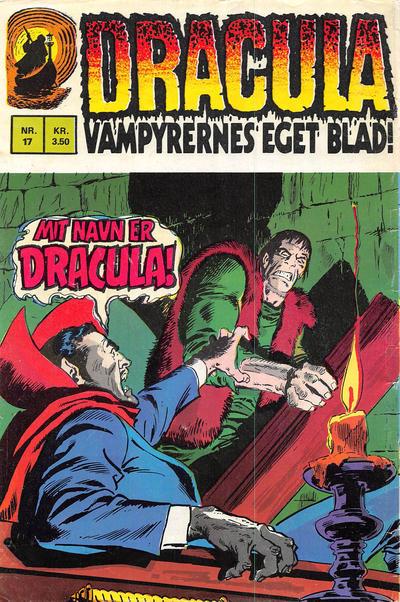 Cover for Dracula (Interpresse, 1972 series) #17