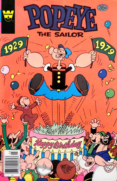Cover for Popeye the Sailor (Western, 1978 series) #144 [Whitman]