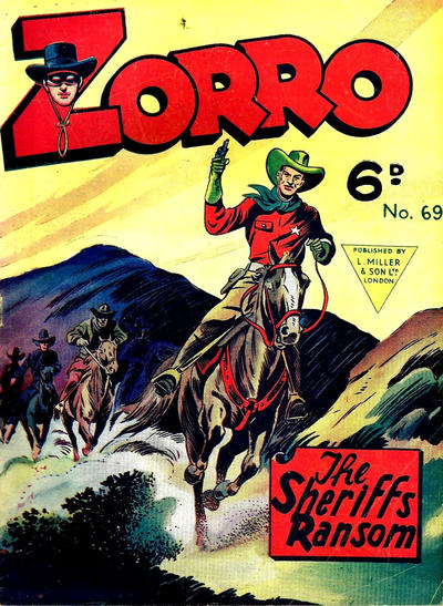 Cover for Zorro (L. Miller & Son, 1952 series) #69