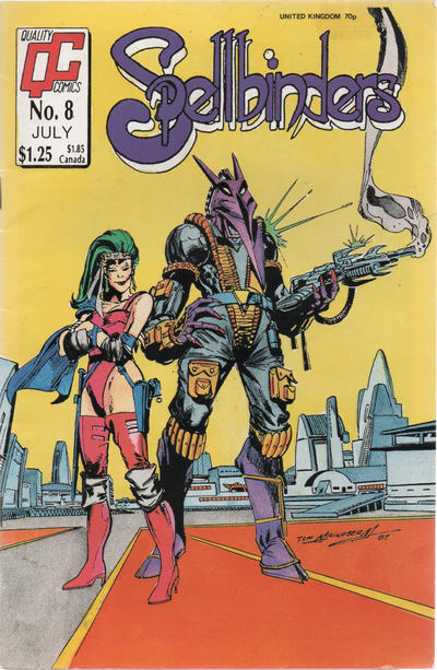Cover for Spellbinders (Fleetway/Quality, 1987 series) #8
