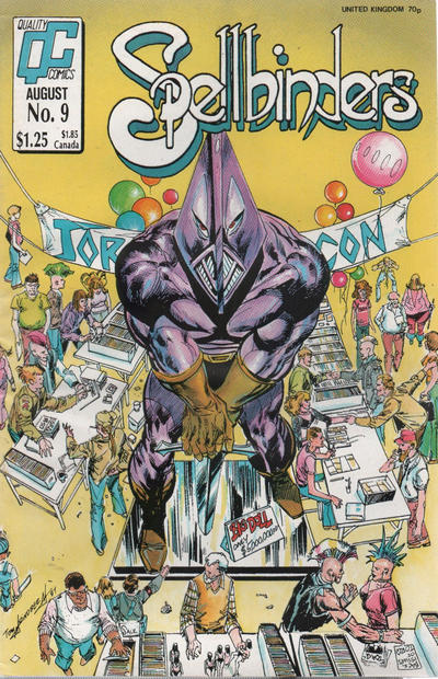 Cover for Spellbinders (Fleetway/Quality, 1987 series) #9