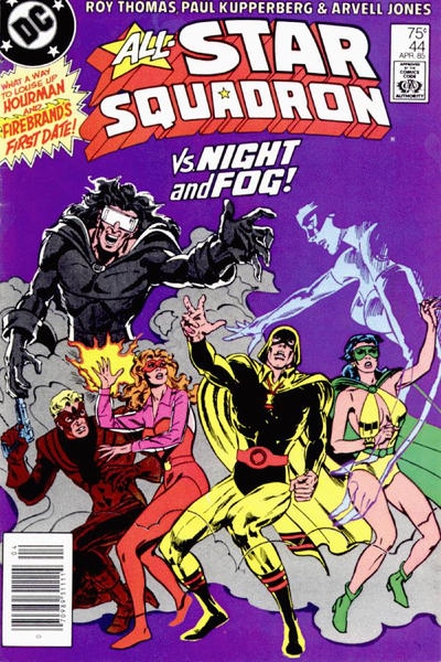 Cover for All-Star Squadron (DC, 1981 series) #44 [Direct Sales]